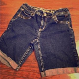Pants - Girls justice jean shorts